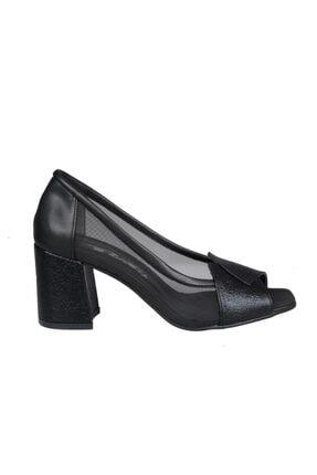 PUNTO 694168 Siyah Kadın Stiletto