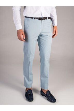 Dufy Mınt Düz Kalın Iplik Erkek Pantolon - Regular Fıt