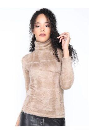 Twister Jeans Kadın Peluş Boğazlı Bayan 2200 Vizon