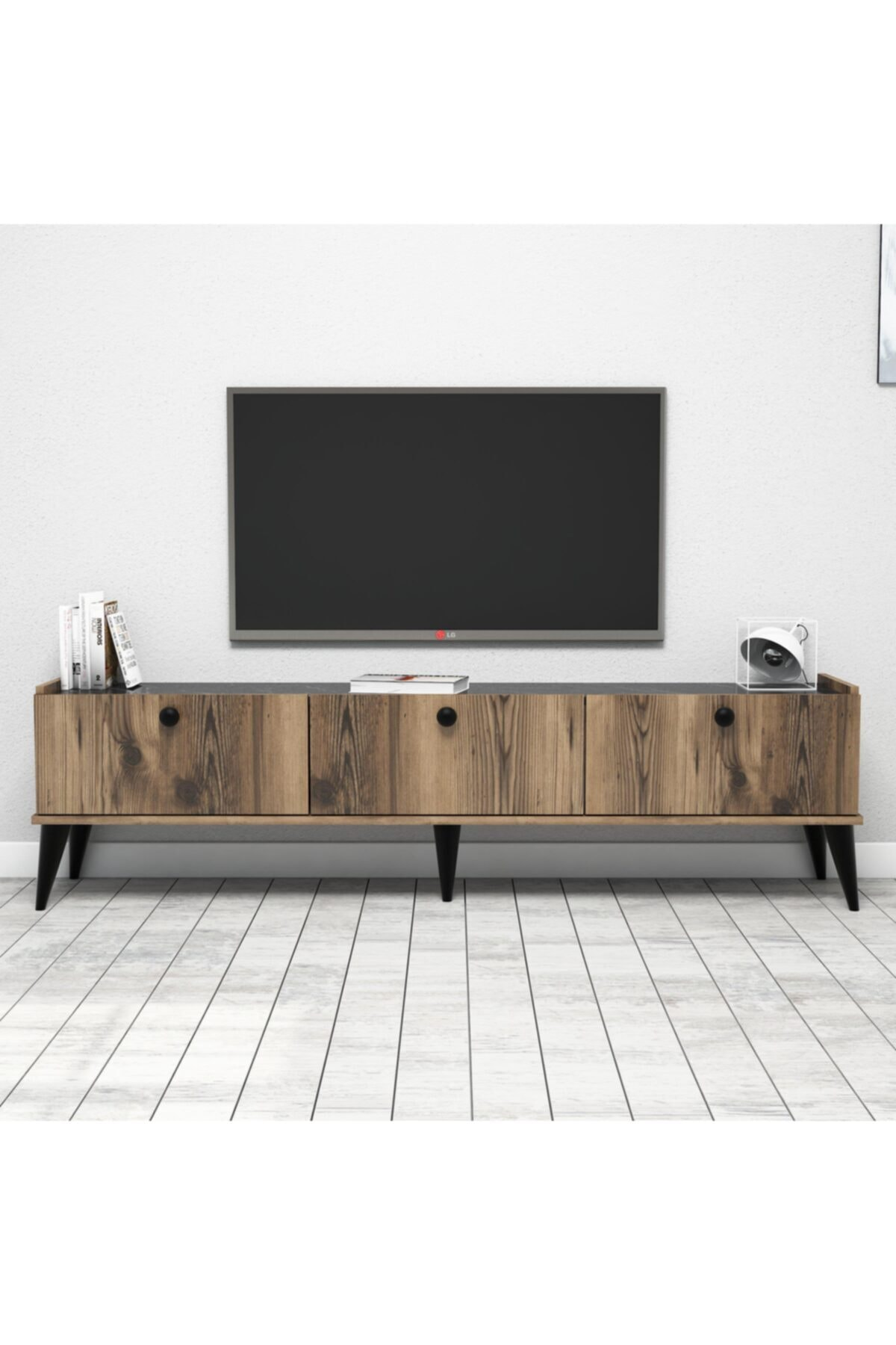 Bimossa E3610 Lidya Tv Ünitesi 180cm. Lidya/parlak 2