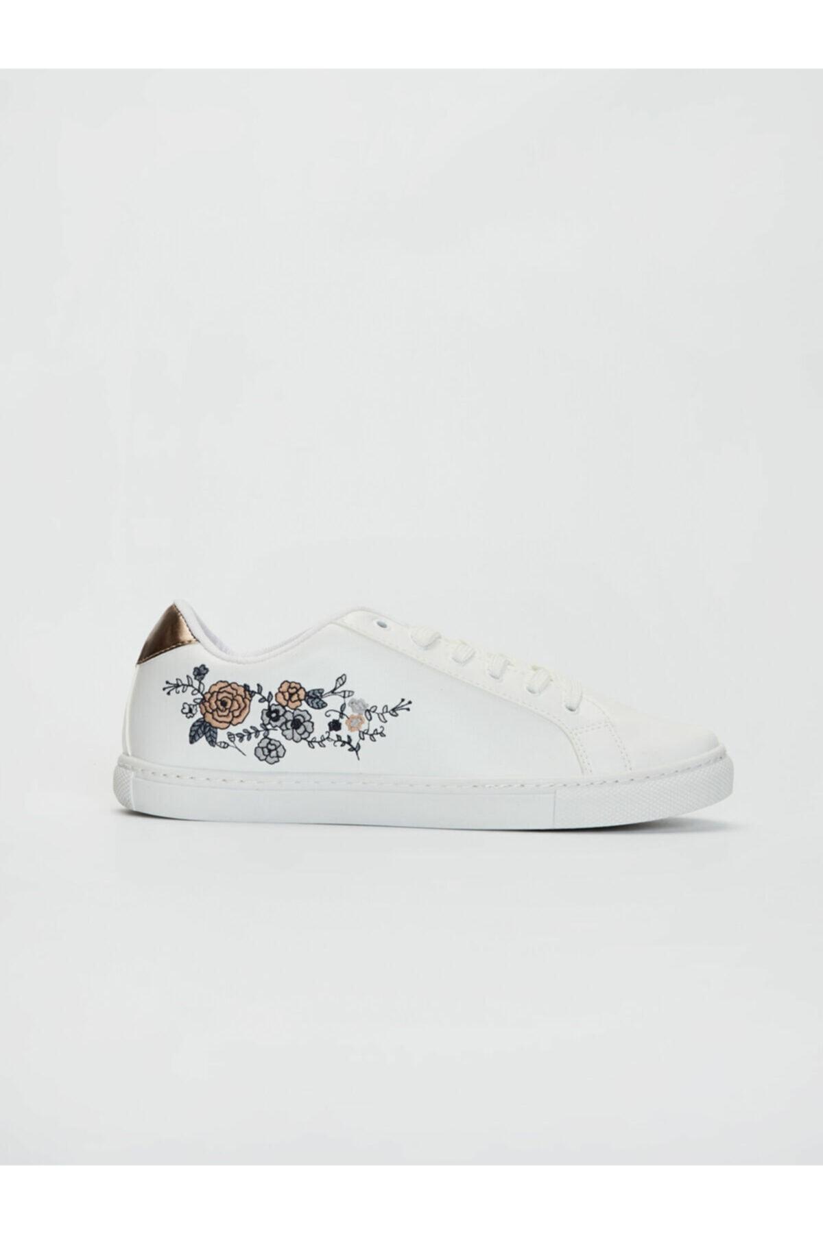 LC Waikiki Kadın Beyaz  Sneaker 1