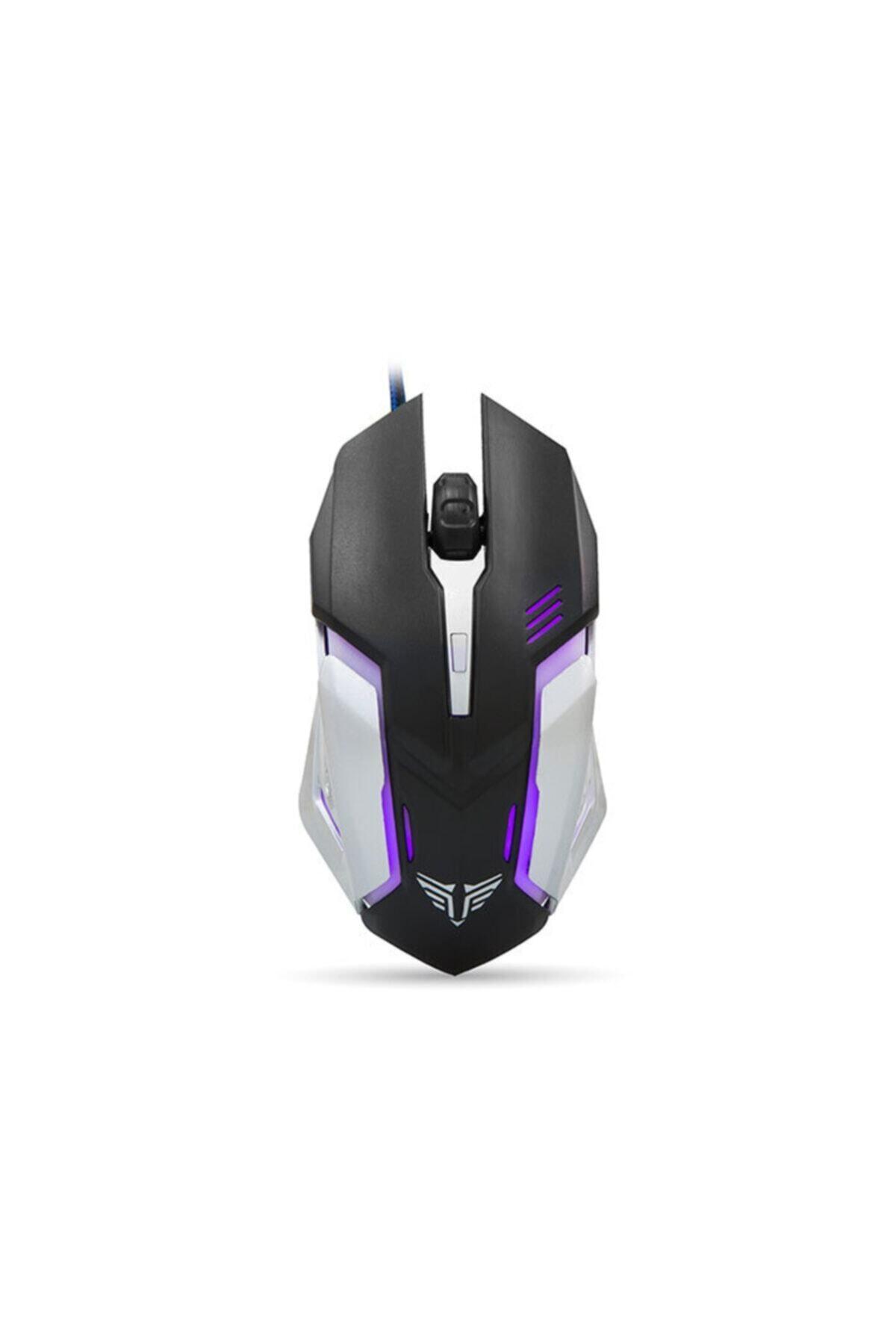 Everest Sm-g72 Gaming Pro Tasarım Usb Siyah/gümüş Işıklandırmalı Oyuncu Mouse 1