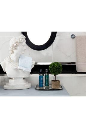 Madame Coco Acelinejakarlı El Havlusu - Mint / Beyaz - 30x30 Cm