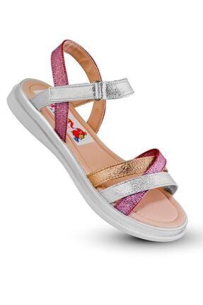 KAPTAN JUNIOR Kız Çocuk Bebek Ortopedik Ayakkabı Sandalet  Babet