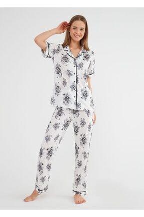 SUWEN Lorena Maskulen Pijama Takımı