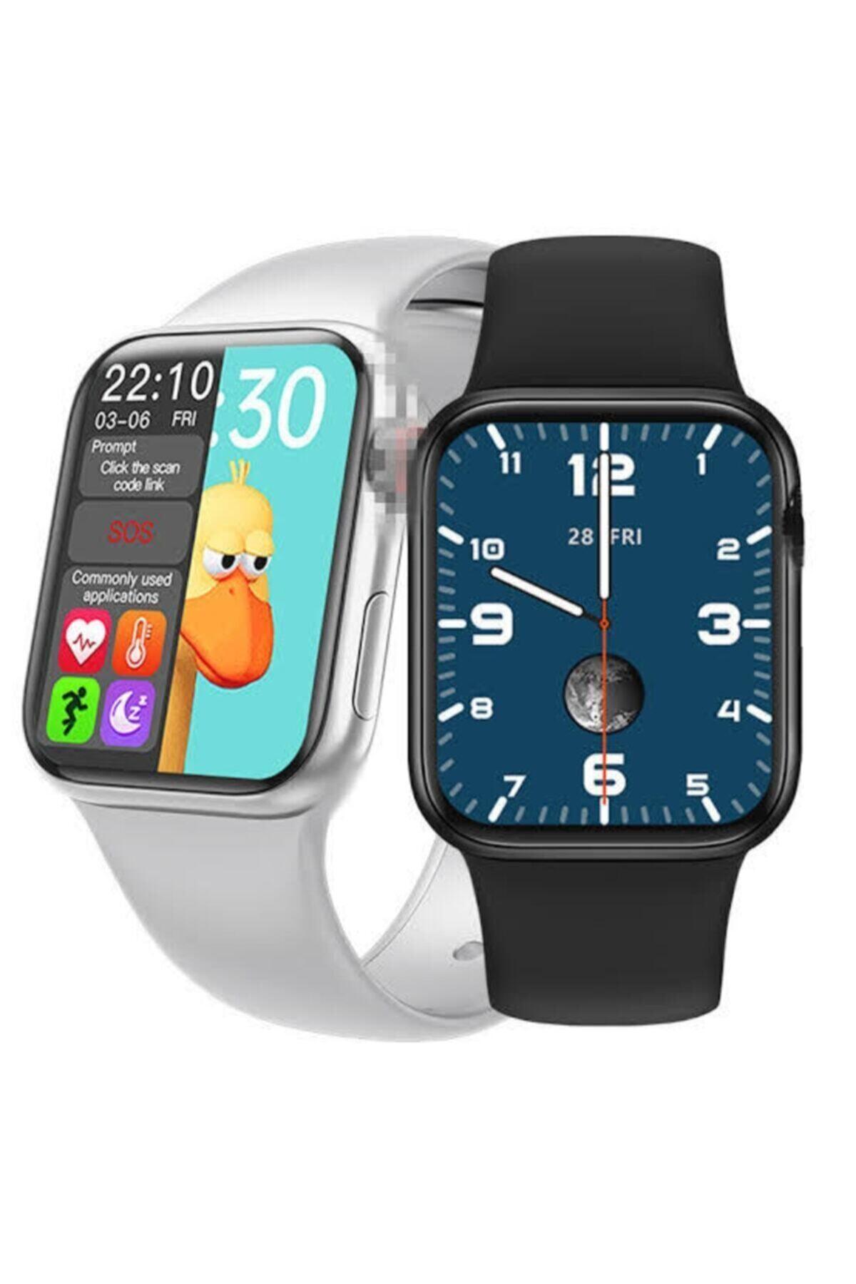 SmartWatch Hw16 Smart Watch 6 Akıllı Saat Tam Ekran 2' Ye Bölme Yan Tuş Aktif 44mm Arama Cevaplama 2