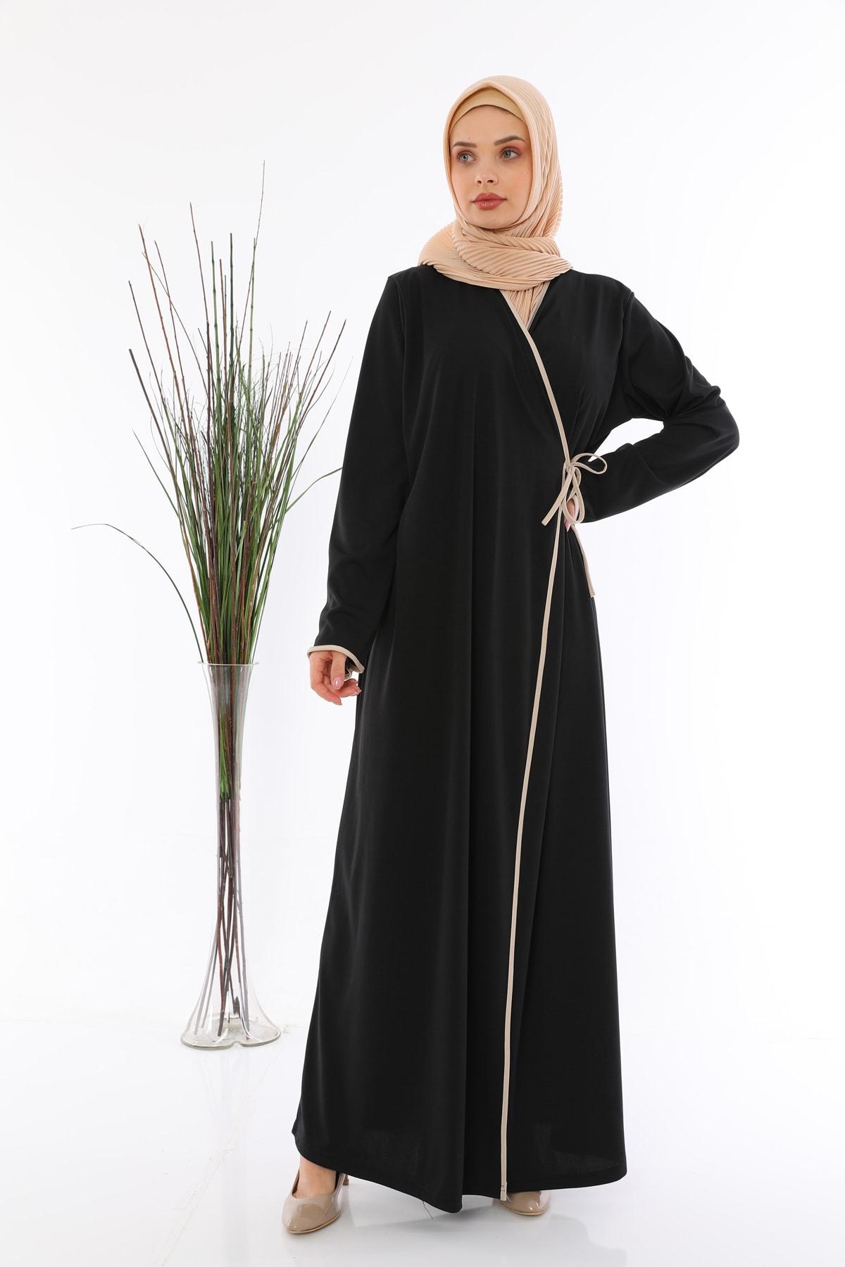 medipek Yandan Bağlamalı Namaz Elbisesi 2