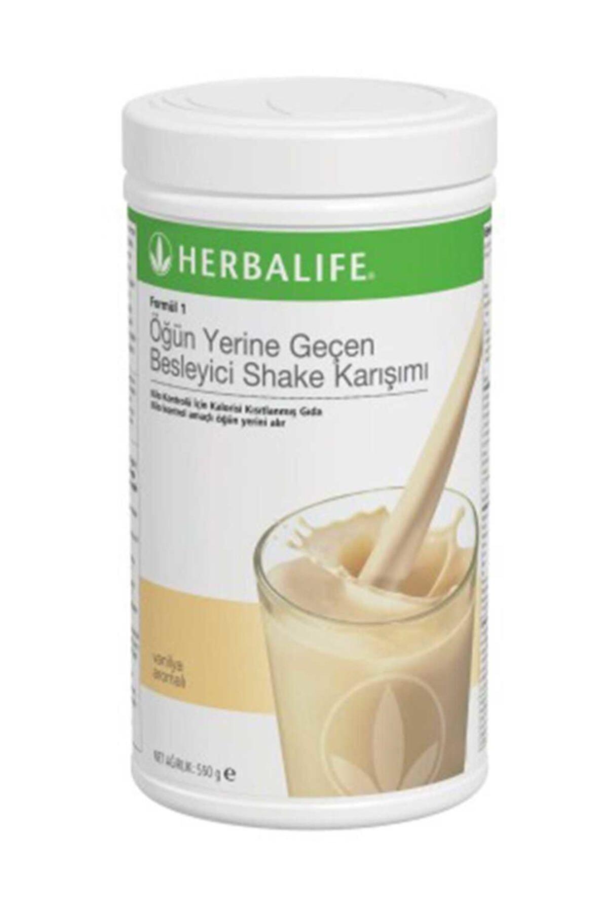 Herbalife Vanilyalı Shake 1