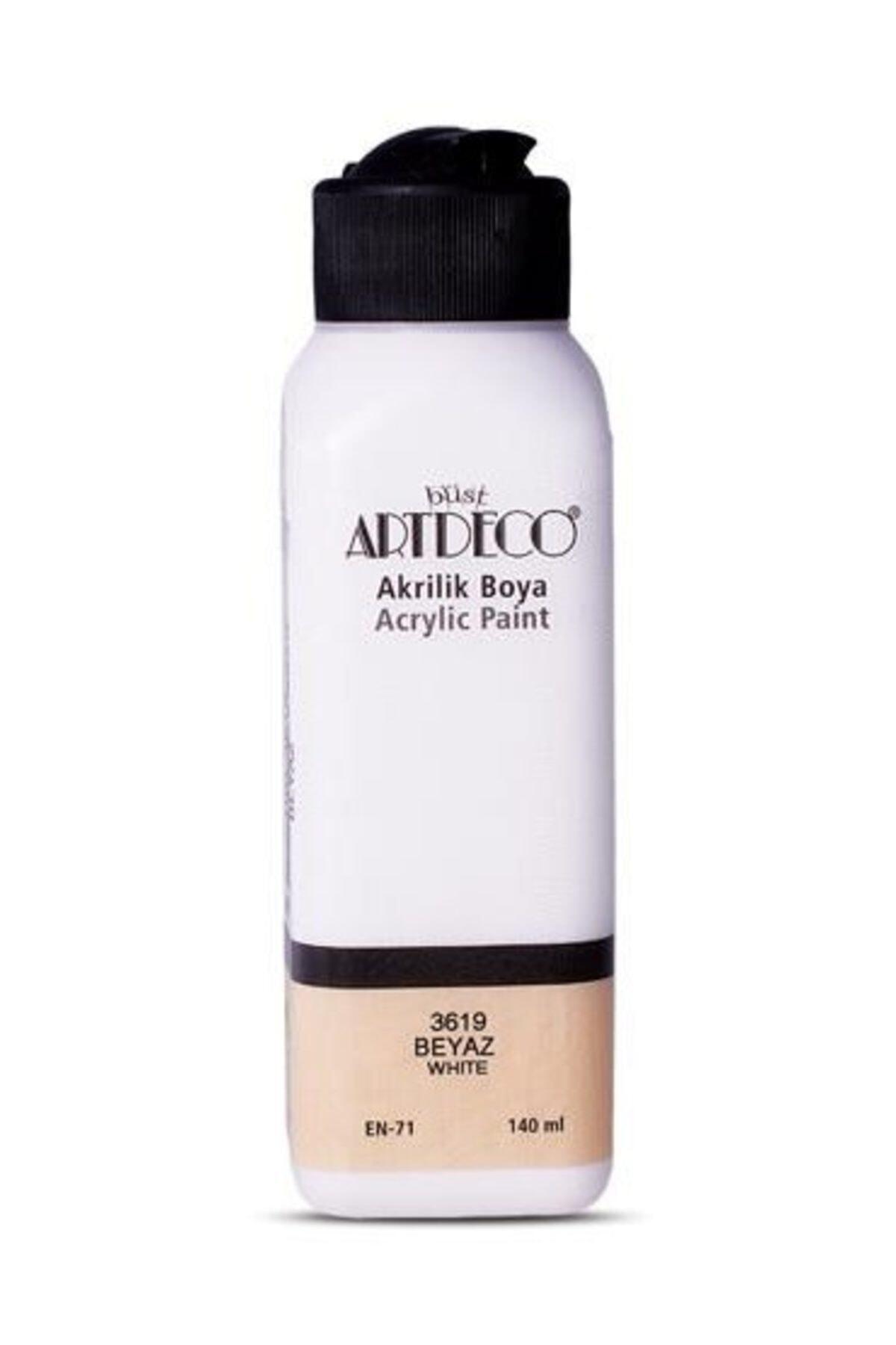 Artdeco Akrilik Boya 140 ml. Beyaz 70r-3619 1