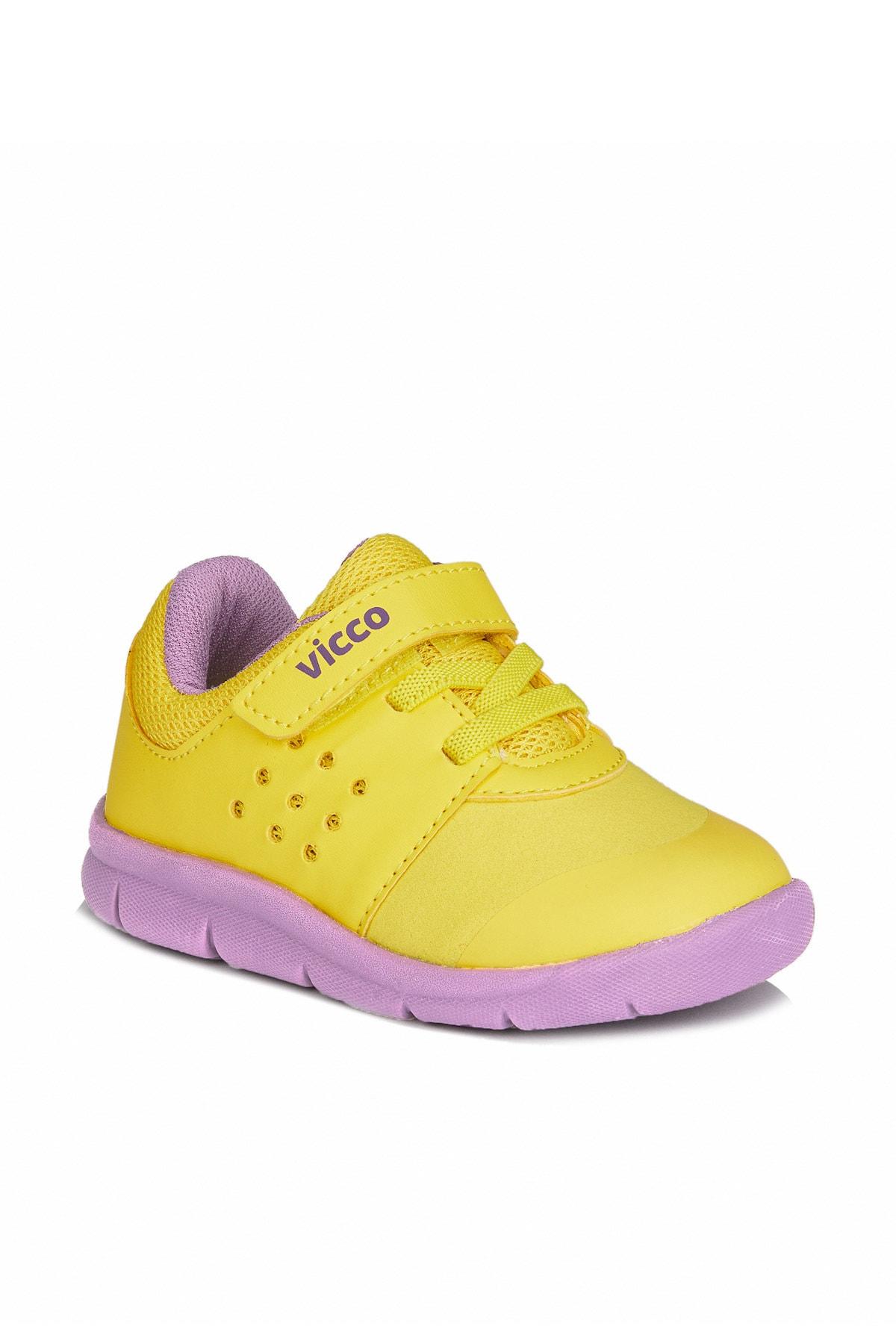 Vicco Mario Iı Unisex Bebe Sarı Spor Ayakkabı 1
