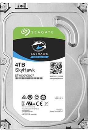 "Seagate 3.5"" 4 Tb Skyhawk St4000vx007 Sata 3.0 5900 Rpm Hard Disk"