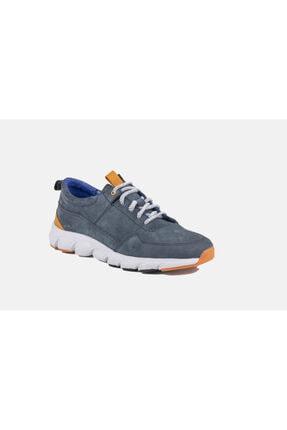 MARCOMEN Erkek Kot Mavi Bağcıklı Sneaker