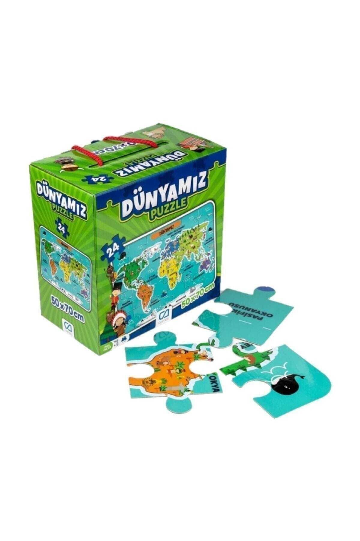 Ks Puzzle Ca Games Dünyamız Yer Puzzle 24 Parça 1