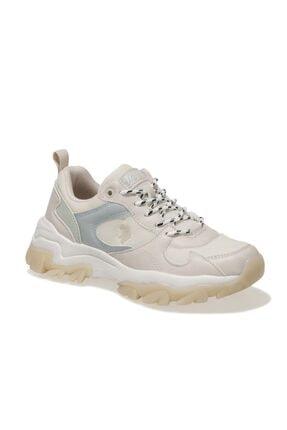 U.S. Polo Assn. TRACKY SUMMER 1FX Bej Kadın Fashion Sneaker 100910858