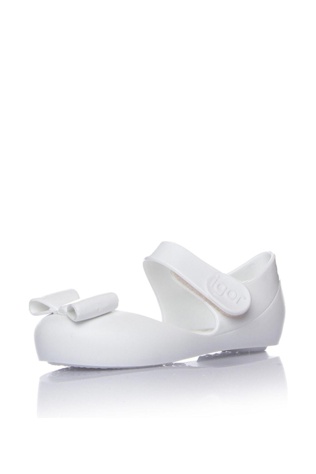 IGOR S10167-L01 Beyaz Kız Çocuk Babet 100293835 2