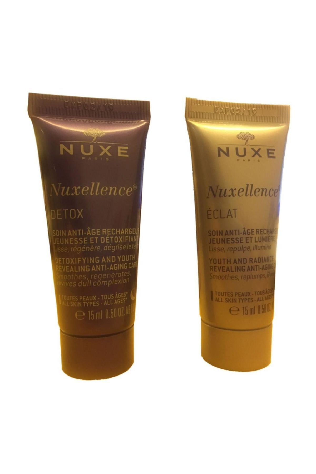 Nuxe Llence Tanışma Kiti Eclat & Detox 1