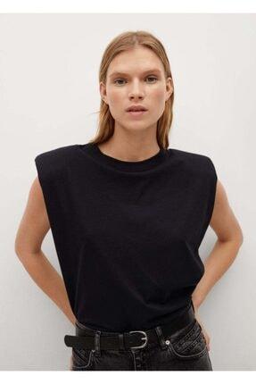 MANGO Woman Vatkalı Tişört