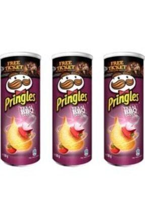 Pringles Barbekü 3x165 gr