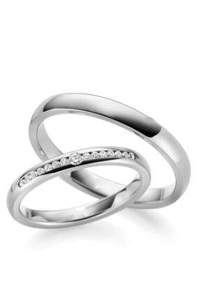 Gümüşcüm Söz Yüzüğü Gümüş Alyans