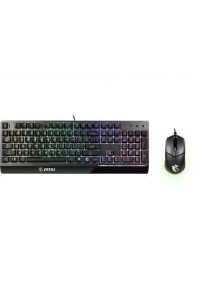 MSI Vigor Gk30 Rgb Türkçe Oyuncu Klavyesi Ve Clutch Gm11 Oyuncu Mouse