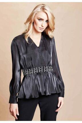 SERPİL Kadın Siyah Bluz