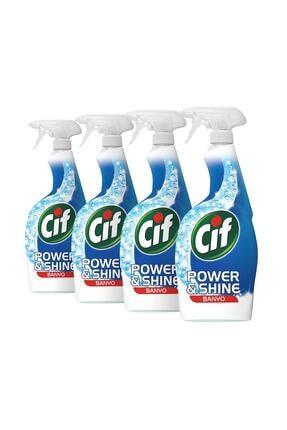Cif Power & Shine Banyo Sprey 750 ml - 4'lü Paket