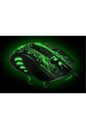 Rider Imice X9 Kablolu 2400 Dpi Işıklı Oyuncu Mouse