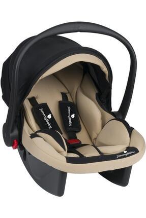 Jimmybaby Krem Lüx Pedli Bebek Taşıma  Puset Anakucağı Oto Koltuğu