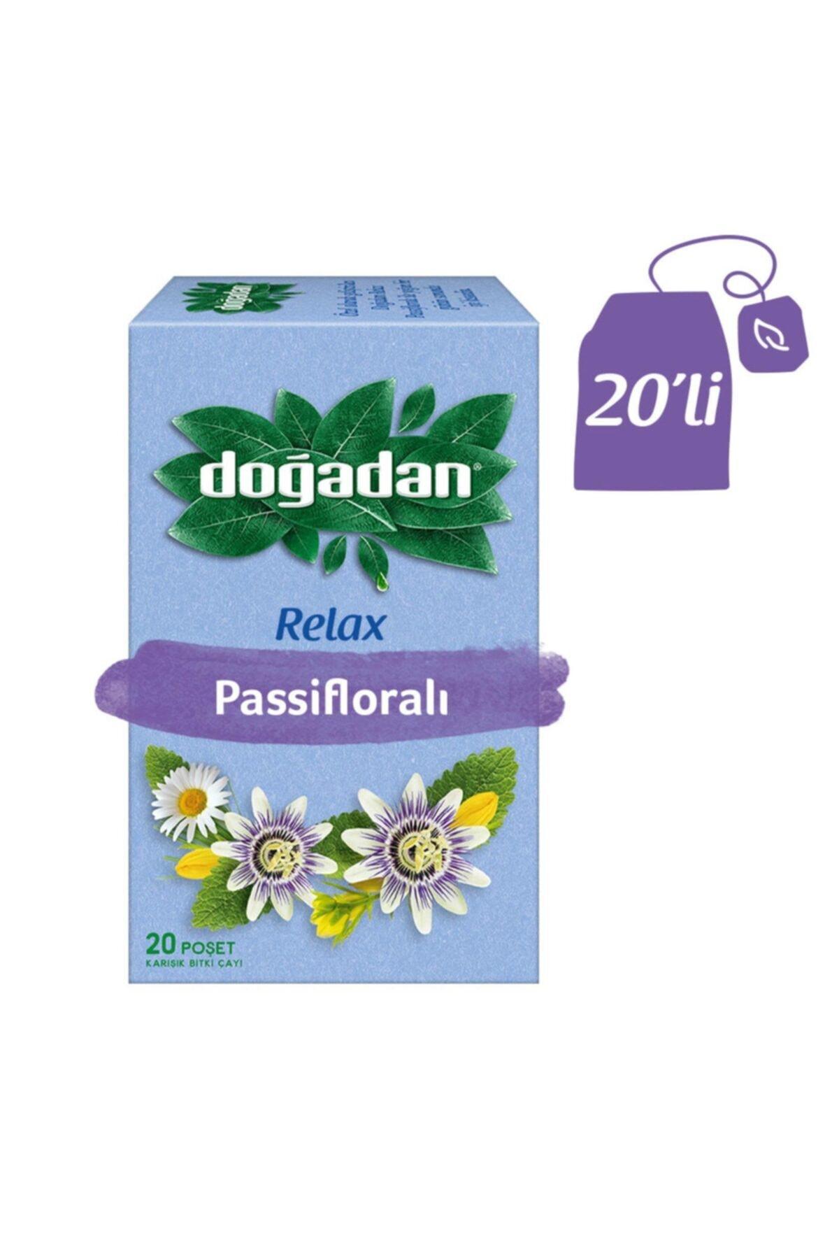 Doğadan Relax Pasifloralı Karışık Bitki Çayı 1