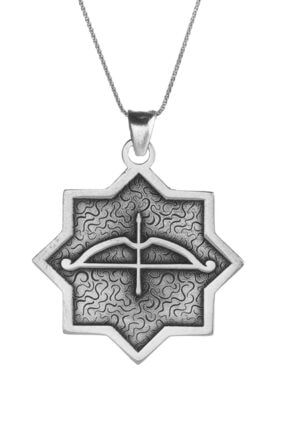 Anı Yüzük Kemankeş Tozkoparan Oasis Ok Yay Gümüş Erkek Kolye Ince Zincirli