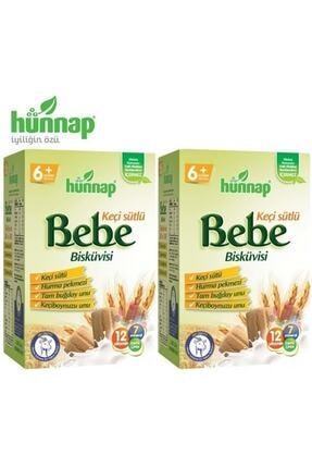 Hünnap Hunnap Bebe Bisküvisi Keçi Sütlü 400 gr X 2 Adet