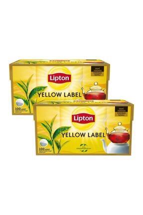 Lipton Yellow Label Demlik Poşet Çay 100'lü X 2 Adet