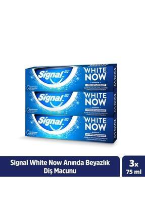 Signal White Now Anında Beyazlık Sağlayan Diş Macunu 75 ml X3