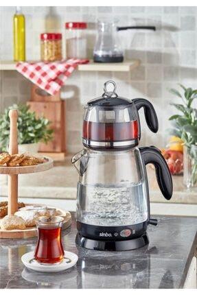 Sinbo Crystal Şeffaf Çay Makinesi