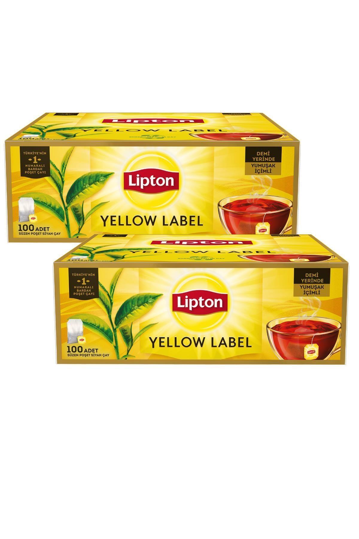Lipton Yellow Label Bardak Poşet Çay 100'lü X 2 Adet 2