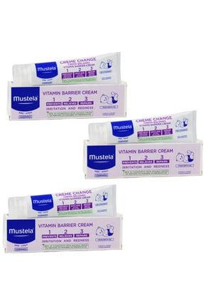 Mustela Vitamin Barrier 1-2-3 Pişik Kremi 100 Ml 3 Adet