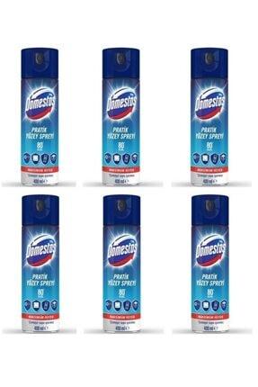 Domestos Pratik Yüzey Spreyi Dezenfektan 400 ml  6 Adet