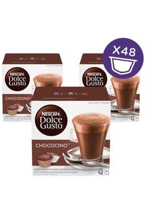 Nescafe Dolce Gusto Chococino Sıcak Çikolata Kapsül Kahve 16 Adet X 3 Kutu