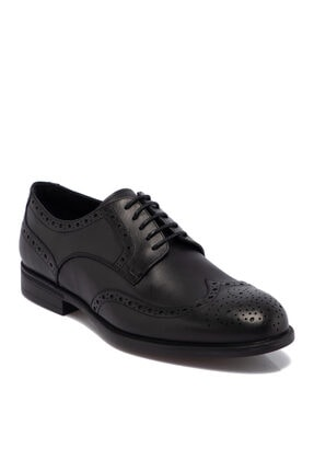 Tergan Siyah Deri Erkek Ayakkabı 55071a43