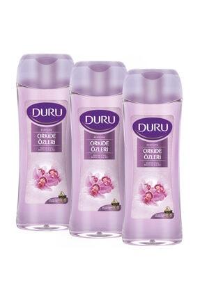 Duru Perfume E Duş Jeli 3 x 450 ml
