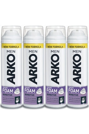 Arko Men Men Sensitive Tıraş Köpüğü 4x200ml
