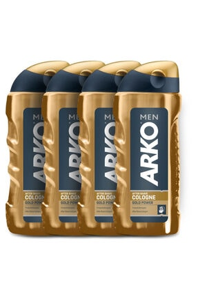 Arko Men Men Gold Power Tıraş Kolonyası 4x250ml