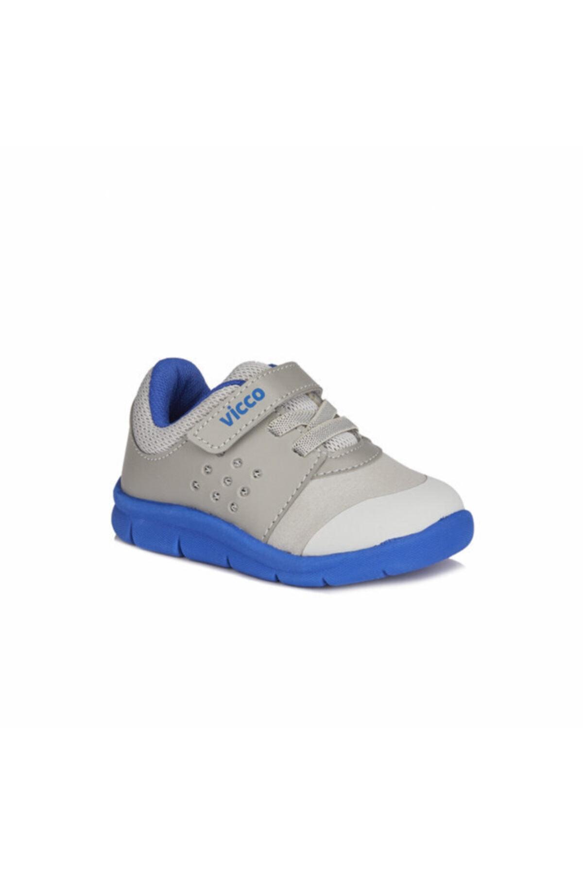 Vicco Mario Iı Erkek Çocuk Gri/saks Mavi Spor Ayakkabı 1