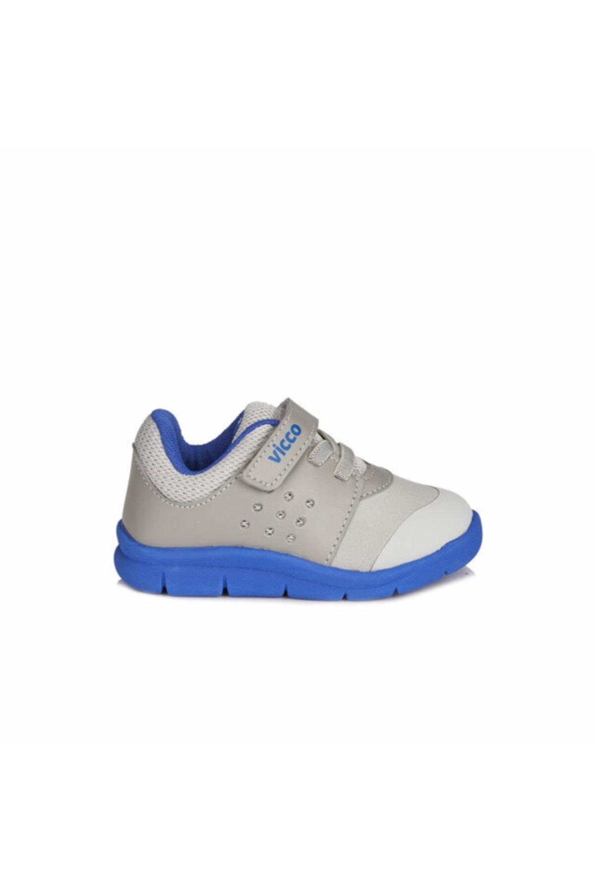 Vicco Mario Iı Erkek Çocuk Gri/saks Mavi Spor Ayakkabı 2