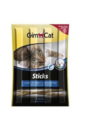 Gimcat Sticks Somon Morina Tahılsız Ödül Çubukları 4'lü 20 gr