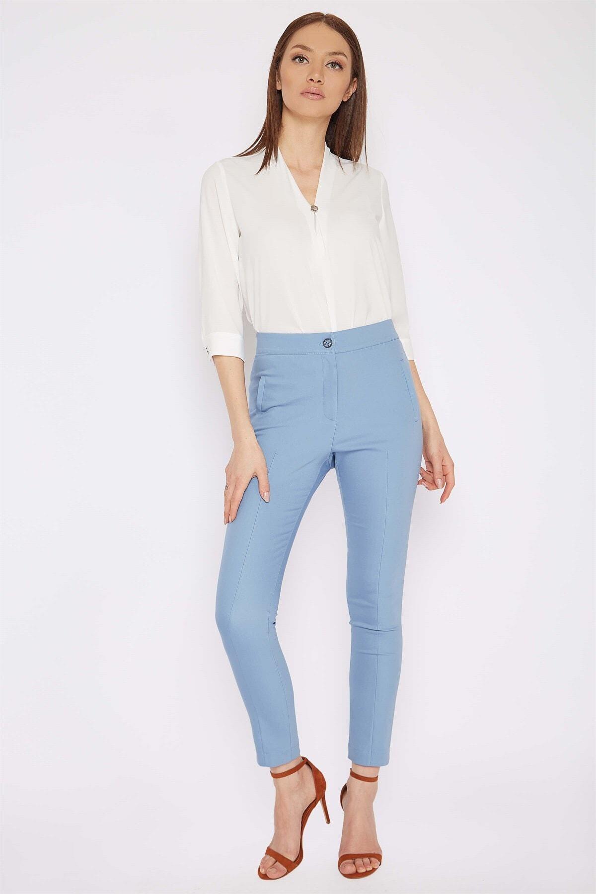 Chima Beli Lastikli Pantolon 1