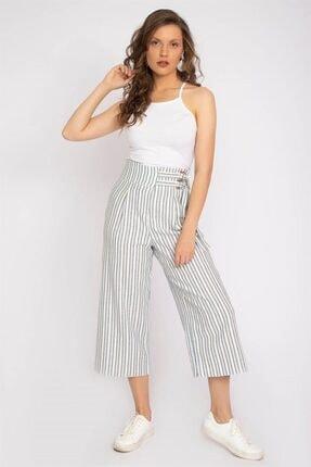 Chima Tokalı Culotte Pantolon