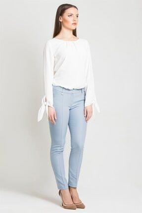 Chima Kadın Mavi Z Cep Pantolon