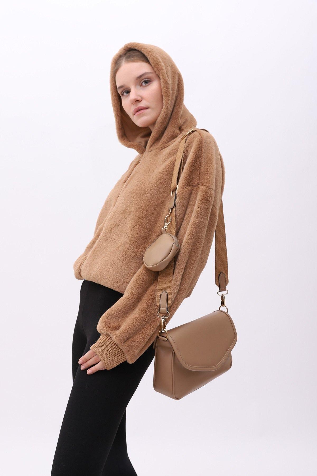 Shule Bags Cüzdanlı Çanta Ashley Vizon 1
