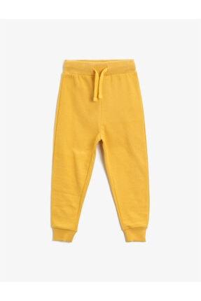 Koton Erkek Çocuk Sarı Eşofman